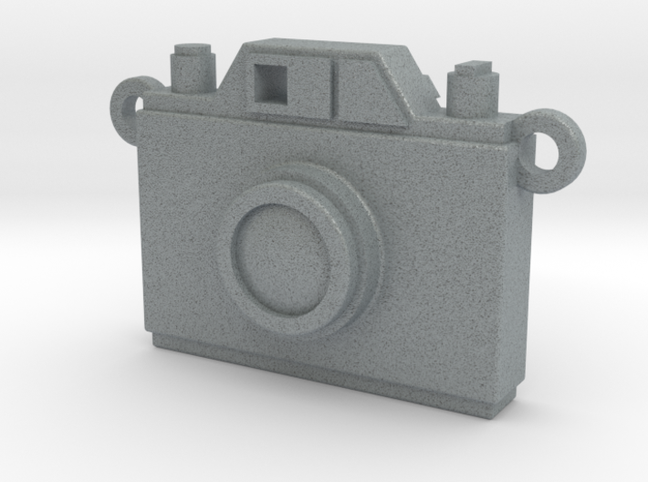 Vintage Film Camera Pendant - Modern Locket 3d printed