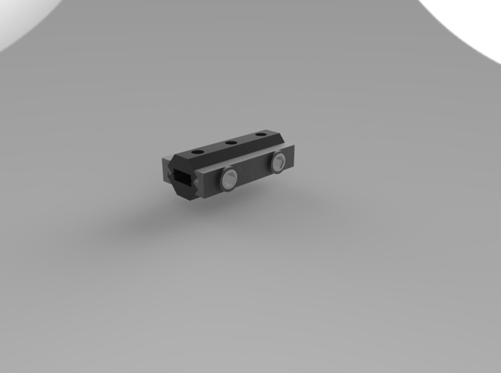 Rail To Rail Adapter 55mm 3d printed