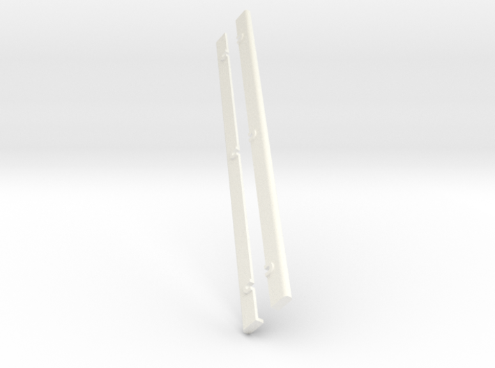 Simensays Hilux 4x4 Rear Bed Rails 3d printed