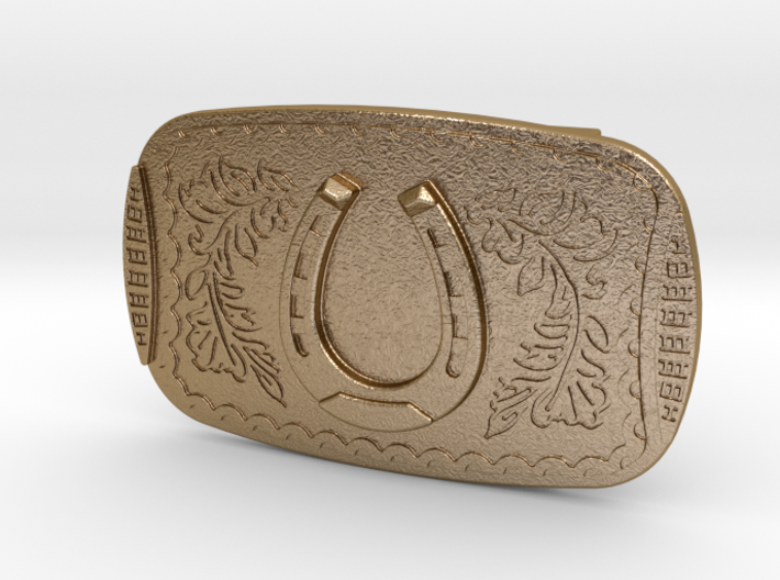 Belt Buckle Nathan Drake (Uncharted 3) 3d printed