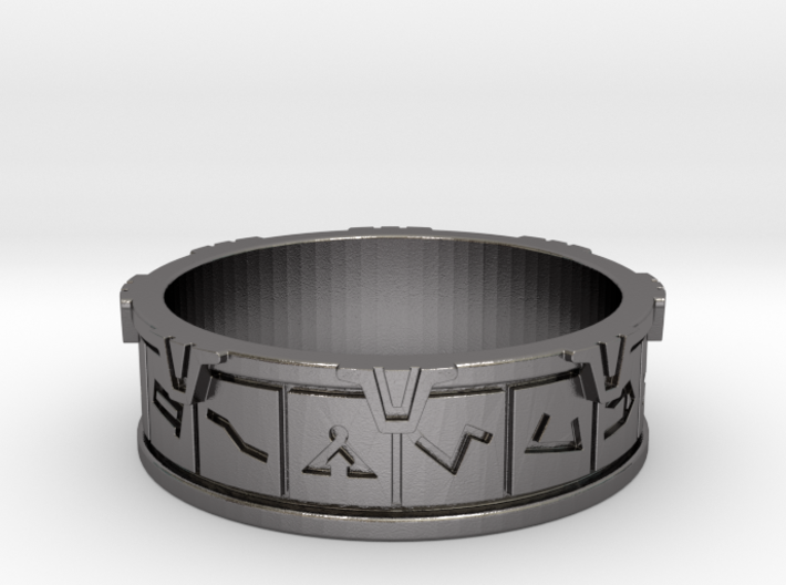 Stargate Ring 3d printed