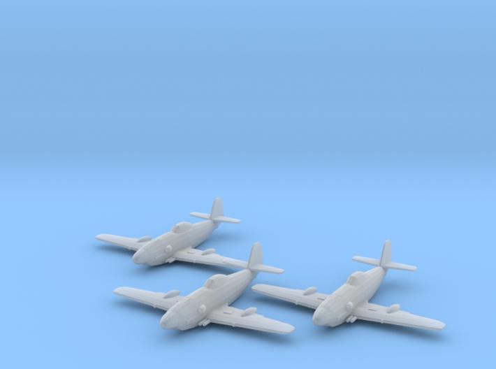 Messerschmitt Me 309 1:200 x3 FUD 3d printed
