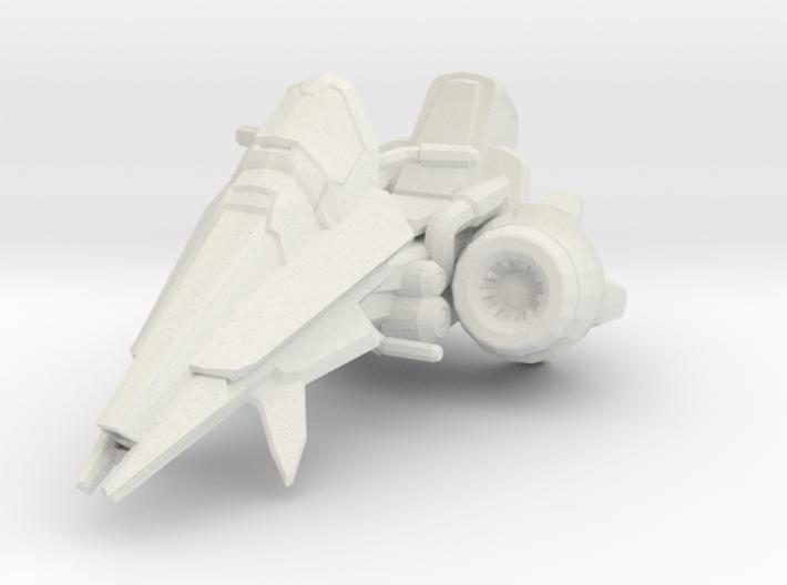1/18 Terran Vulture Bike 3d printed