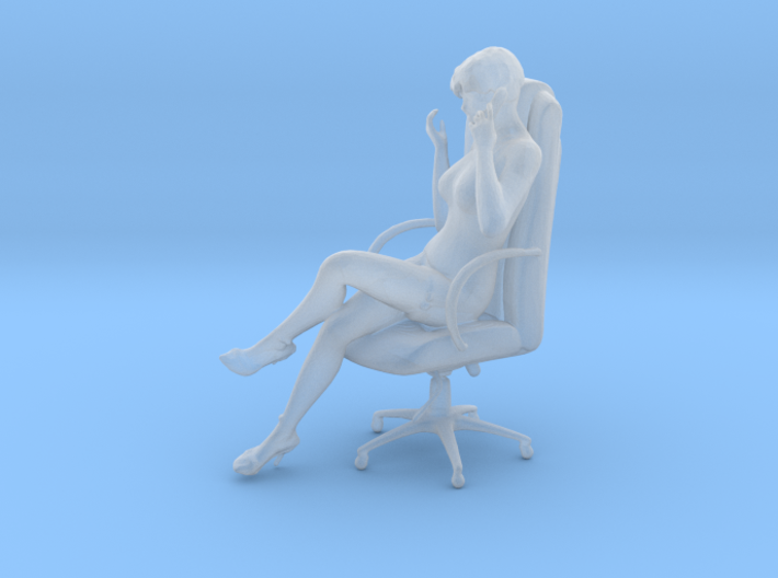 1/24 Woman Executive 3d printed