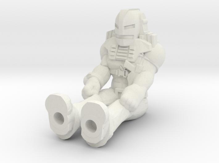 Cliff Dagger, Sitting, 35mm Mini 3d printed
