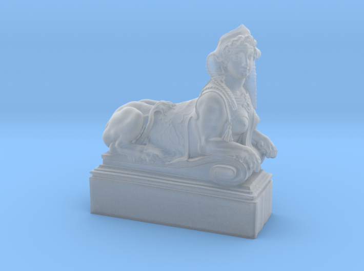 Mythical Sphinx 3d printed