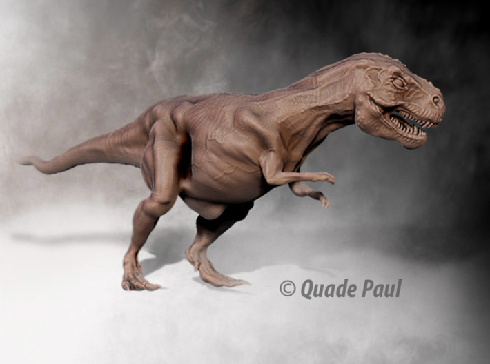 Tyrannosaurus Rex 3d printed render of the Trex