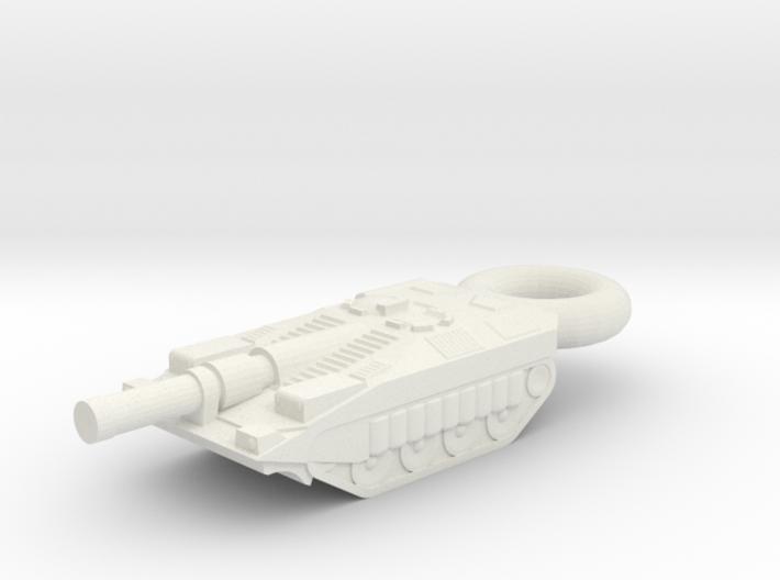 Stridsvagn 103C KEYCHAIN 3d printed