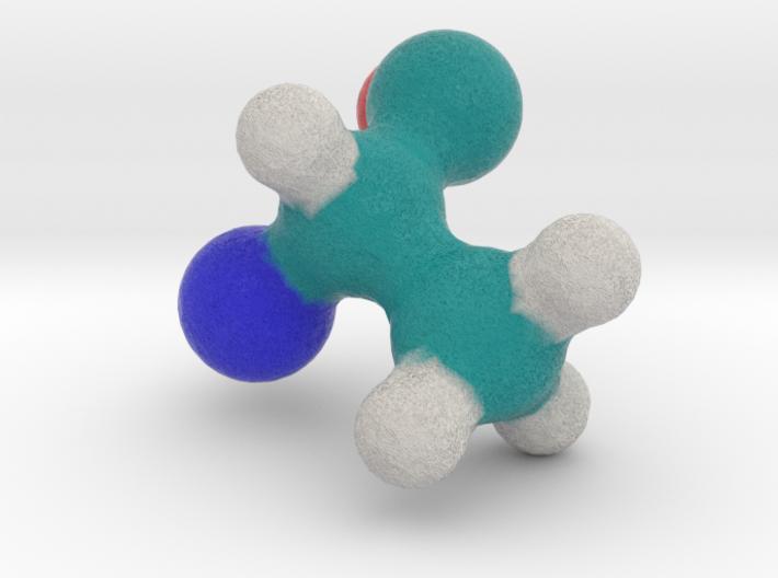 Amino Acid: Alanine 3d printed
