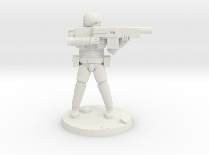 36mm Heavy Armor Trooper 3 3d printed