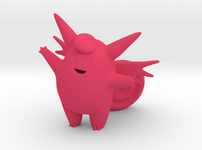 Clefable 3d printed