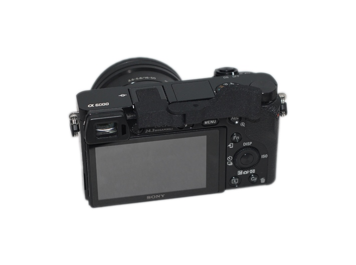 ⍺Grip (Grip for Sony A6000) 3d printed