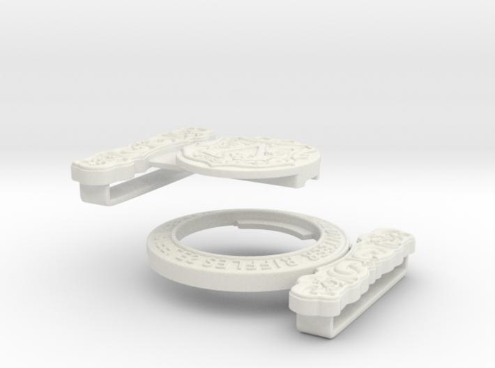 Victorian belt buckle (Evie Frye AC Syndicate) 3d printed