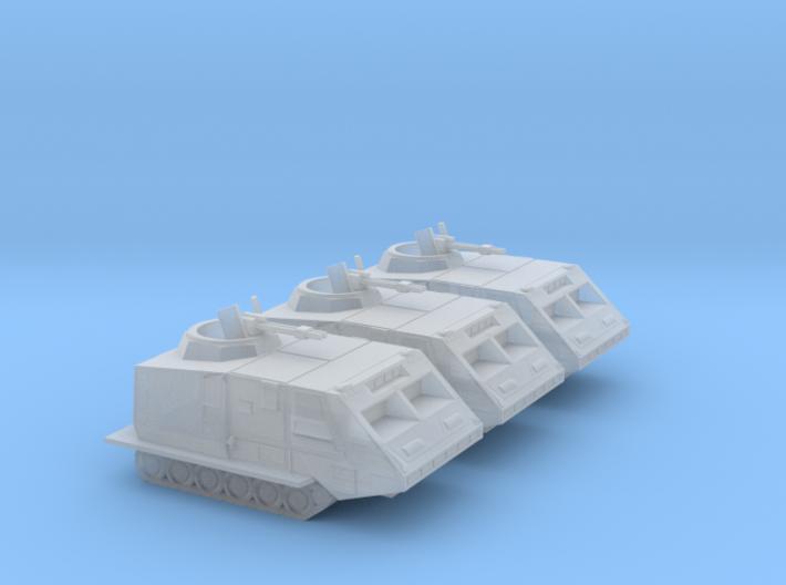 Landram x3 (Battlestar Galactica), 1/270 3d printed