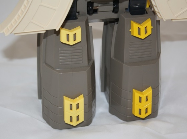 "Omega Supreme Leg Clips or ""shields"" - Finish off  3d printed"