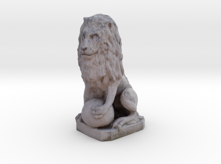 Medici Stone Lion 3d printed