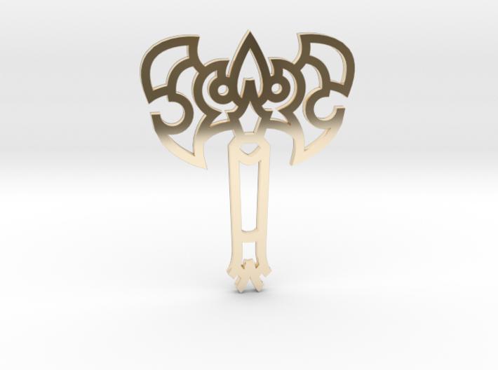 Axe / Hacha 3d printed