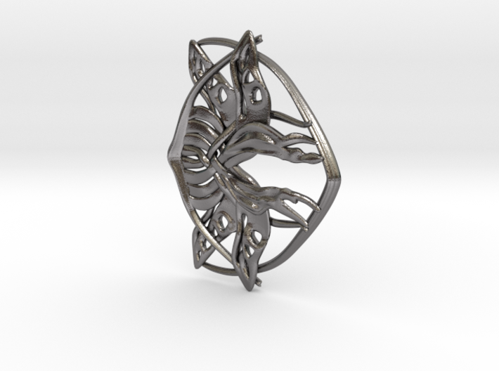 Arwen Belt Buckle 3d printed