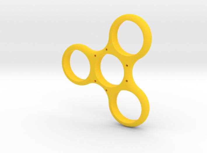 Simple Triple Sided Fidget Spinner 3d printed