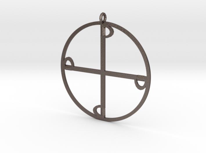 Four Swords -pendant 3d printed