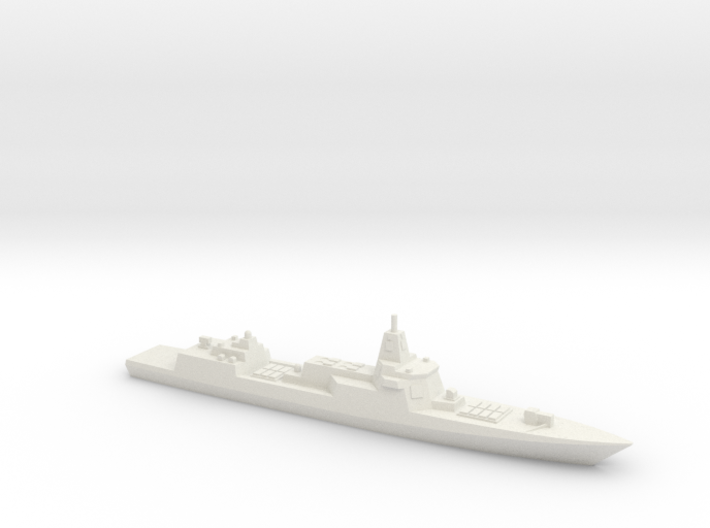 055 Destroyer (2017), 1/3000 3d printed
