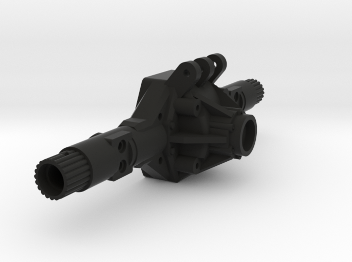 NC60 XR Width Scale Axle Housing 3d printed