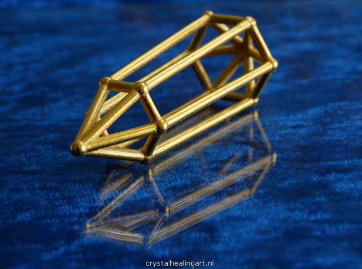 Phi Vogel Crystal - 6 sided 3d printed