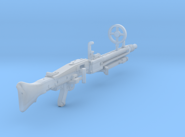 1:16 MG42 Machine Gun 3d printed