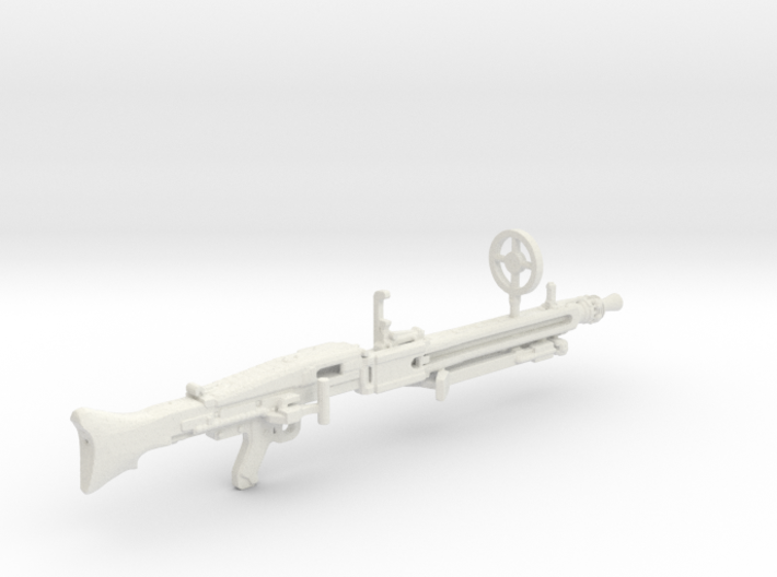 1:18 MG42 German Machine Gun 3d printed