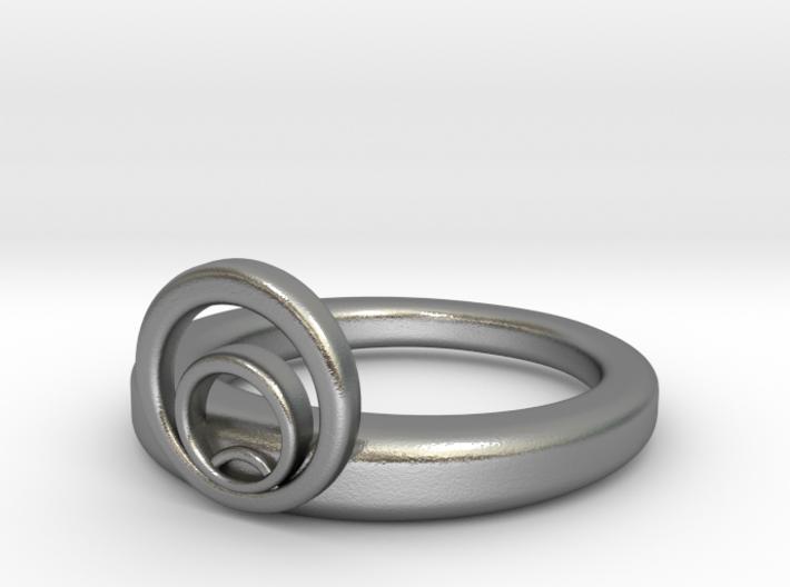 Nouveau Ring 01 3d printed