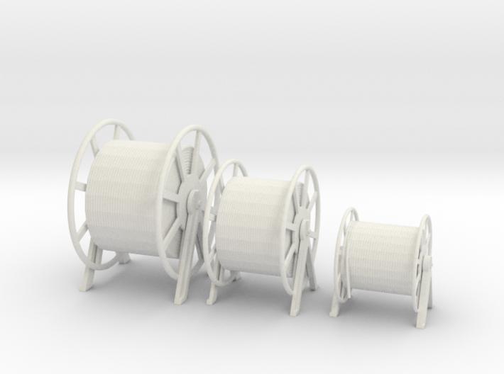1/32 DKM Hauser Rope Barrels SET 3d printed