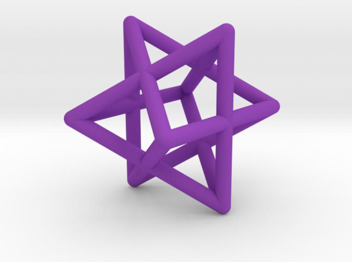 Merkaba pendant - small 3d printed