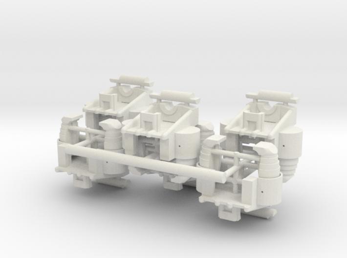 1/16 Early M3/M4 Bogies 3d printed