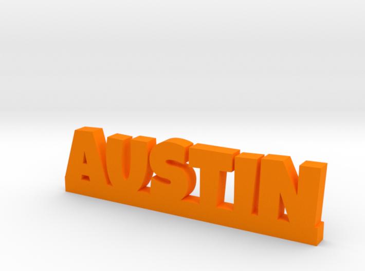 AUSTIN Lucky 3d printed
