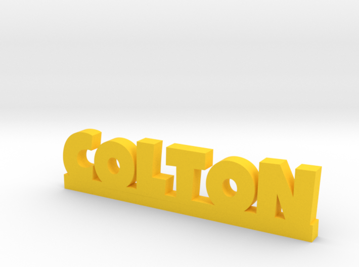 COLTON Lucky 3d printed