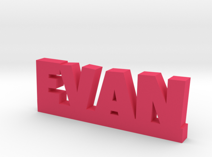 EVAN Lucky 3d printed