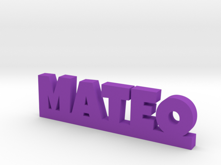 MATEO Lucky 3d printed