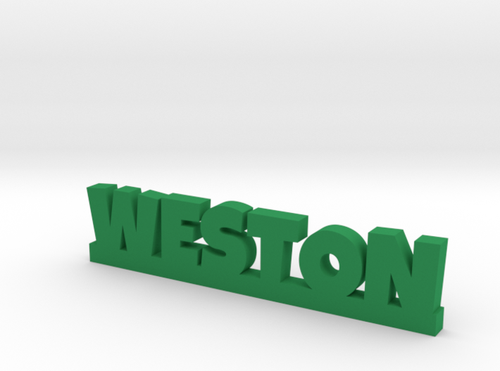 WESTON Lucky 3d printed