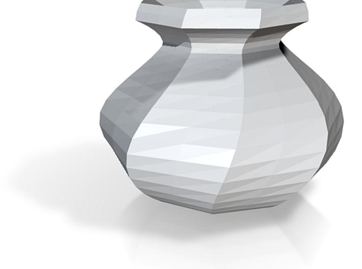 Mini Spinning Octagon Vase 3d printed