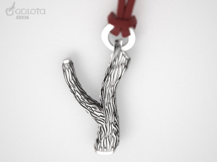 Macho Pendant (necklace of the sperm donor) 3d printed