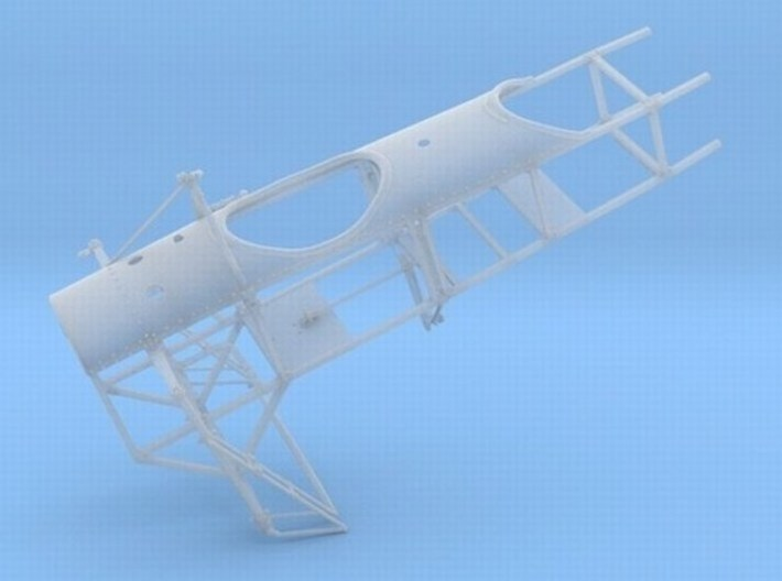 1/18 scale Bleriot XI-2 WWI model kit #2 of 3 3d printed