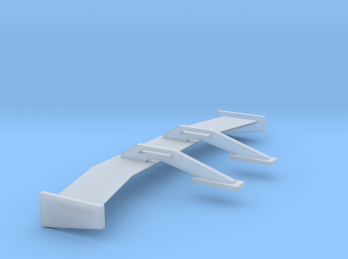 1/24 1/25 Lowpro Swan Neck Wing 3d printed