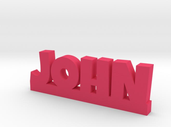 JOHN Lucky 3d printed