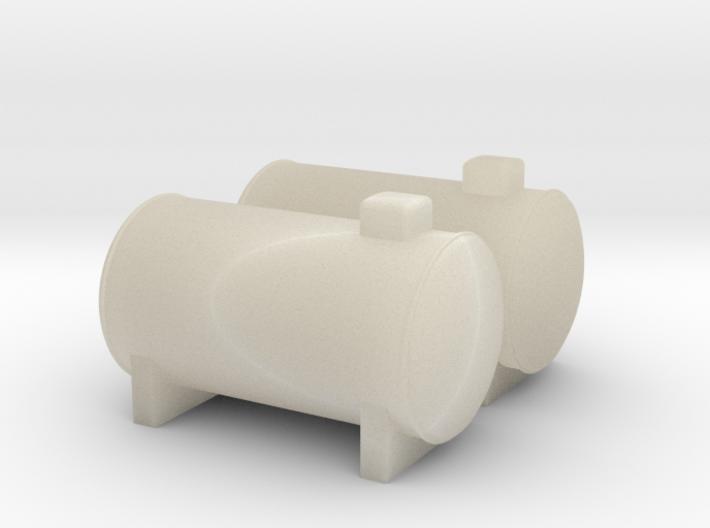 N Scale 2x Propane Tank 3d printed