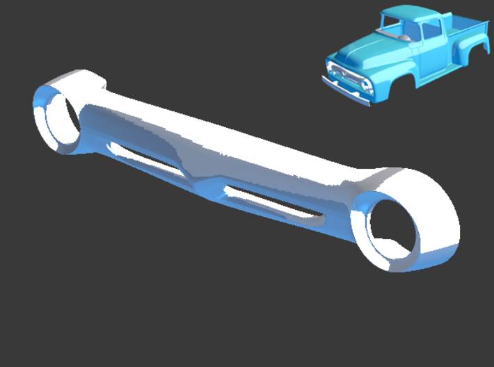 1956 Ford Pickup Grill 1/8 3d printed