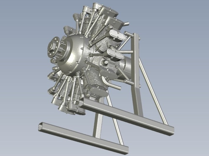 1/10 scale Wright J-5 Whirlwind R-790 engine x 1 3d printed