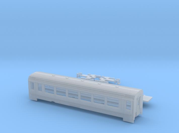 Passenger car type B-4S w/bogie 3d printed