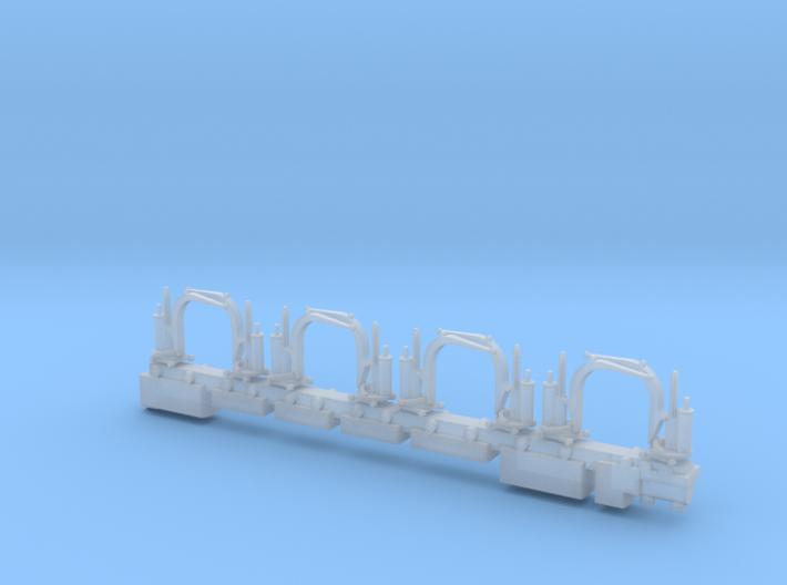Steam Crane x 8 3d printed