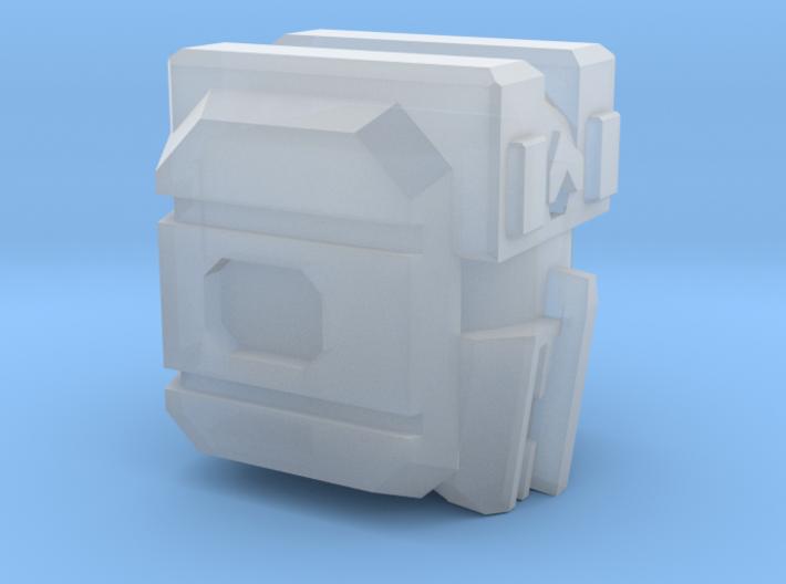 "Aerial Tactician Head ""Version F"" 3d printed"