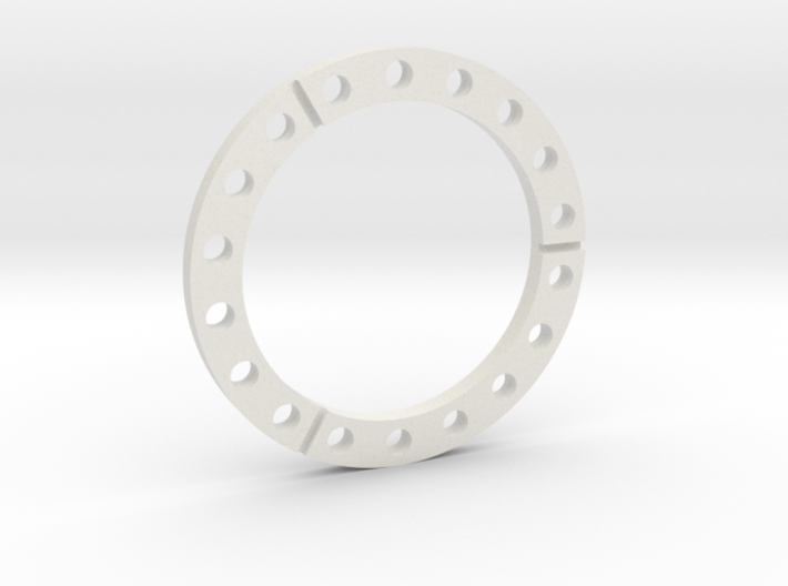 E-100 wheel spacer 3d printed